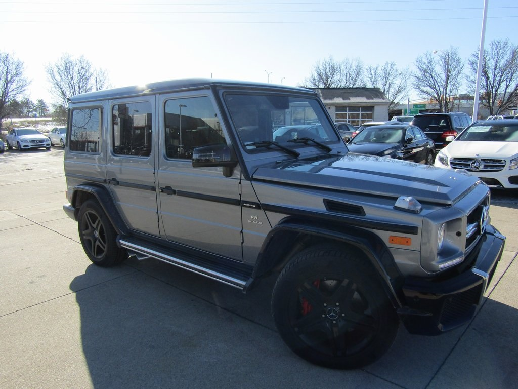 Certified pre owned 2017 mercedes benz g class amg g 63 for Pre owned mercedes benz g class