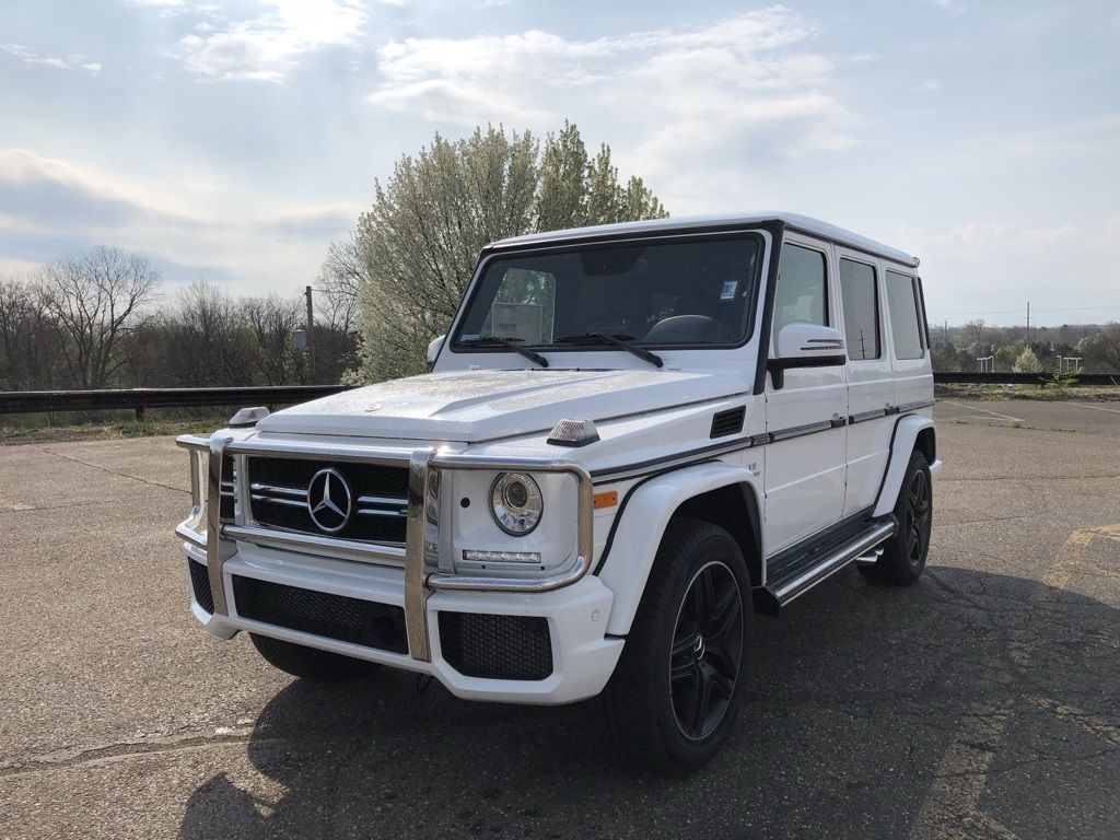 New 2018 mercedes benz g class amg g 63 suv suv in akron for Mercedes benz g class suv price