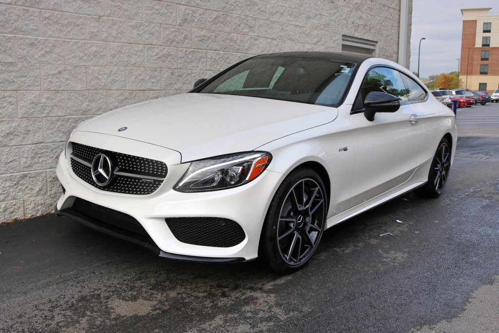 New 2017 mercedes benz c class c43 amg 2d coupe in akron for Mercedes benz c43 amg lease